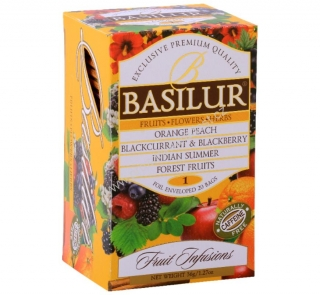 Basilur Fruit Infusions Assorted I. 20