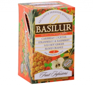 Basilur Fruit Infusions Assorted lI. 20