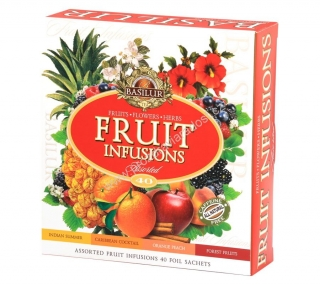 Basilur Fruit Infusions Assorted 40