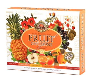 Basilur Fruit Infusions Assorted 60