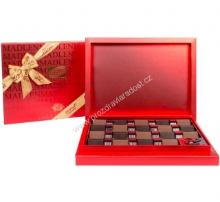 Chocolate Carres Red box 370 g BIND