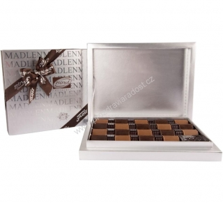 Chocolate Carres Silver box 370 g BIND