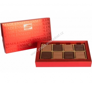 Chocolate Carres Red box 150 g BIND
