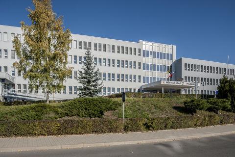 Budova Polikliniky ve Stráži pod Ralskem