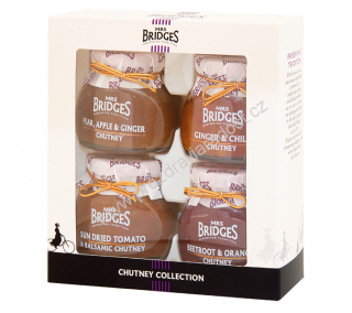 Mrs Bridges Chutney Collection 4